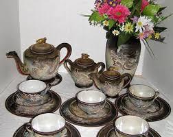 vintage tea set vintage tea set etsy