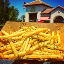 Mcdonalds In America Map by Gilroy Garlic Fries