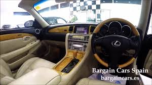 price of lexus hardtop convertible lexus sc 430 4 3l petrol hard top convertible right hand drive