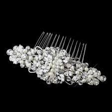 pearl hair comb pearl wedding hair comb olivier laudus