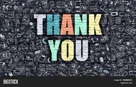 thank you multicolor inscription image u0026 photo bigstock