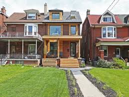 1 8 million for a roncesvalles house with lots of glass in the back