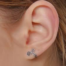 cuff piercing online shop new women single nose rings ear cuff antique