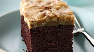 chocolate cake with praline topping life made delicious