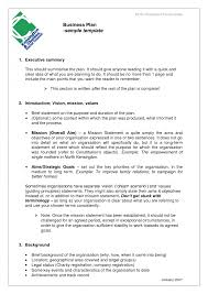 business proposal templates examples plan sample construction