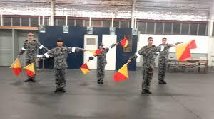 Army Signal Flags Ts Perth Cadets Signal Flag Display2 Youtube