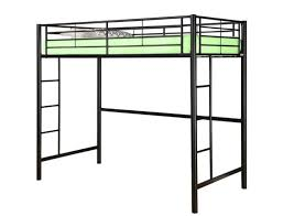 twin xl loft bed frame dillon extra long twin over queen bunk bed