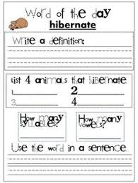 collection of solutions hibernation worksheets for 2nd grade for