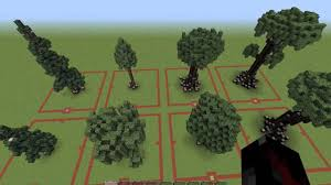minecraft custom trees