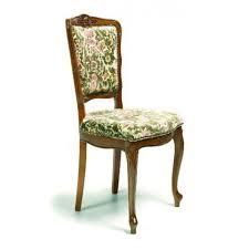 chaise de style chaise de style régence en tissu 135