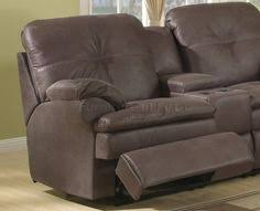 Sectional Sofa With Recliner by Brown Wrap Around Couch Championship Chocolate Reclining