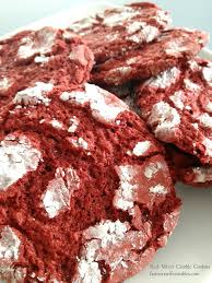 red velvet crinkle cookie recipe farmer u0027s wife rambles