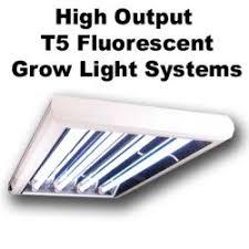 T5 Light Fixtures Growbright T5 Fluorescent Grow Light Fixtures