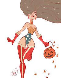 halloween pic art halloween character design wonder woman by meomai on deviantart