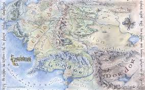 Lotr Map Tolkien Wallpapers Group 64