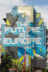 you can t escape that the future is europe a full view of the mural on the 580m2 wall photo european commission