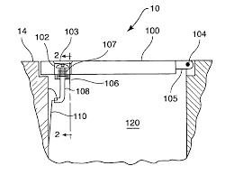 Pool Deck Drain With Removable Tops by Patent Us6802962 Deck Drain Cover Plate Assembly Google Patents