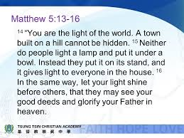 Light Of The World Academy Be The Salt And Light Principal Cheng January Ppt Download