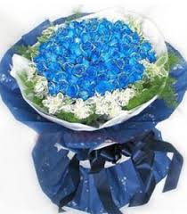 blue roses delivery send 36 blue roses in bouquet to cebu delivery three dozen blue