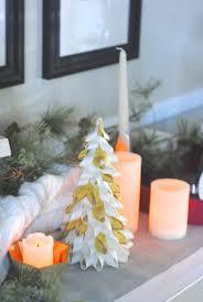 easy christmas craft ideas ribbon trees christmas crafts