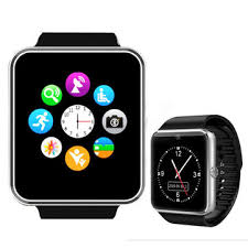 smart android gt08 bluetooth smart wrist sync notifier with sim card for