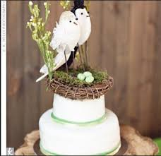 bird cake topper unique wedding idea bird cake toppers budget brides guide a