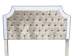 ivory king size headboard tufted upholstered headboard pearl