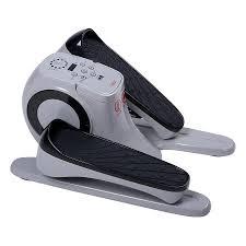 under desk exercise peddler sunny health fitness motorized auto assisted under desk elliptical