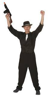 Gangster Woman Halloween Costumes Gangster Halloween Costume Mafia Vest Shirt Tie Fancy Dress