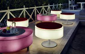 Modern Pool Furniture by Illuminated Garden Furniture Moncler Factory Outlets Com