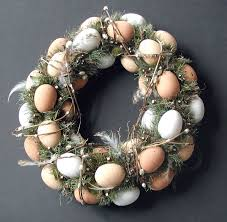 egg wreath and easy diy easter decorating ideas for your home granite
