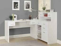 Home Computer Desk White L Shaped Computer Desk Best Home Furniture Design