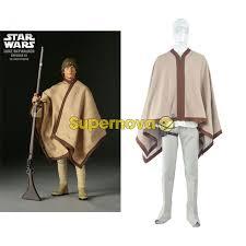 Luke Skywalker Halloween Costume Supernova Movie Star Wars Luke Skywalker Cosplay Costume Jedi