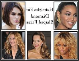 hair styles for head shapes photo gallery of long hairstyles diamond shaped faces viewing 10