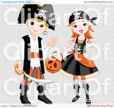 halloween reef transparent background royalty free rf clipart illustration of a boy and in pirate