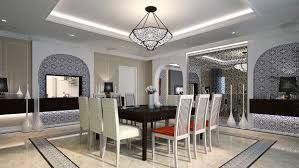 morocco dining area interior design ideas