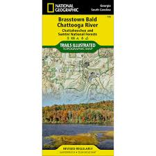 Georgia River Map 778 Brasstown Bald Chattooga River Chattahoochee And Sumter
