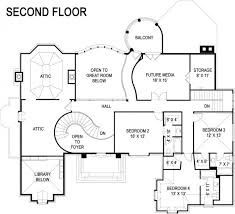 luxury european castle house plan second floor i love the stair