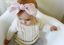 baby headwrap diy baby oversized bow headwraps a joyful riot