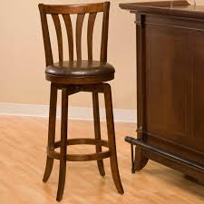 hillsdale dennery 24 in swivel counter stool cherry hayneedle