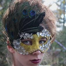 peacock mardi gras mask shop black feathered mask on wanelo