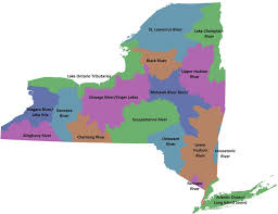 map for new york watersheds nys dept of environmental conservation