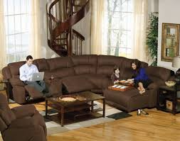 Living Room Sectional Sets by Furniture Amazing Leather Reclining Sectional Sofa Design