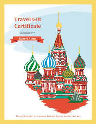 travel gift certificates 13 free printable gift certificate templates birthday christmas