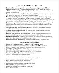 Best Program Manager Resume by Professional Manager Resume 49 Free Word Pdf Documents