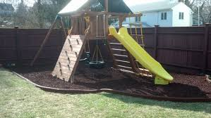New England Backyards by Ground Leveling Backyard Adventures