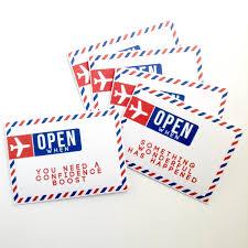 5 open when letters envelopes printable for a friend partner