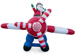 amazon com animated 8 foot wide christmas inflatable santa