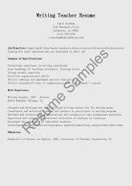 Sample Resume For Daycare Teacher Resume Esl Teacher Skills Virtren Com