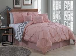 Practical Bedding Set Amazon Com Geneva Home Fashion 7 Piece Ella Pinch Pleat Comforter